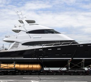 Yachting Developments launched 39.5m Sportfisher Hull 1015