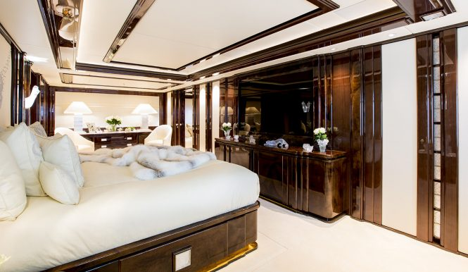 Luscious accommodation with opulent decorations and accessories