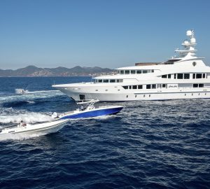 Charter award-winning M/Y Lucky Lady in the Bahamas and Caribbean over Thanksgiving