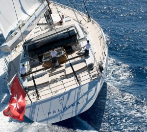Charter award-winning sailing yacht PALMIRA in the Caribbean and Bahamas