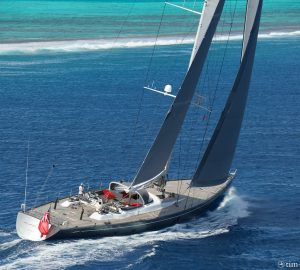 Charter sailing yacht Silvertip in the New Zealand summer sun