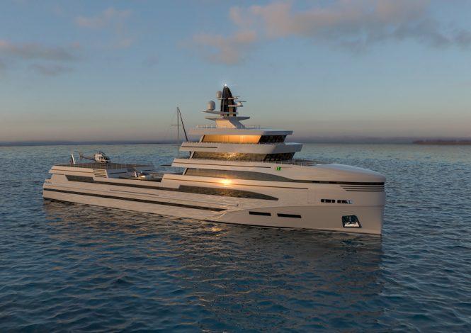 Spadolini - Rosetti 85 supply vessel