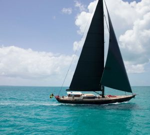 Charter sailing yacht Tenacious in the Bahamas
