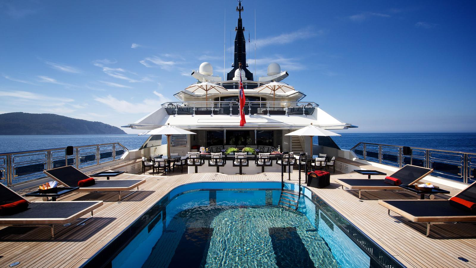 20 Top Charter Yachts with Swimming Pools — Yacht Charter