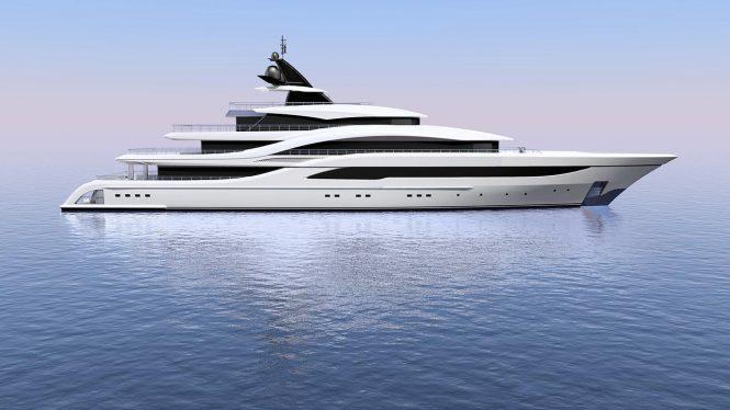 77m Turquoise Yacht