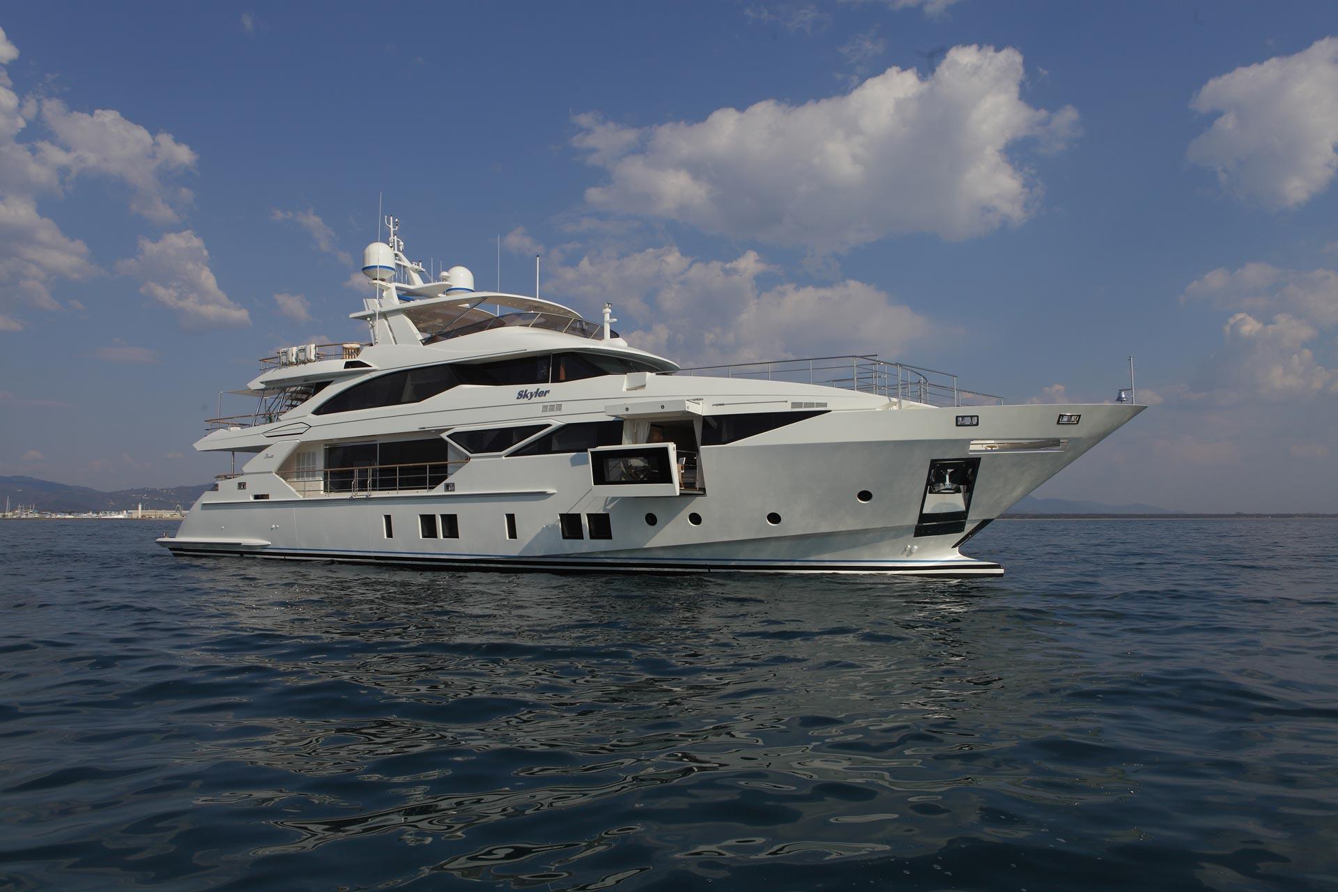 Benetti Fast 125 yacht SKYLER