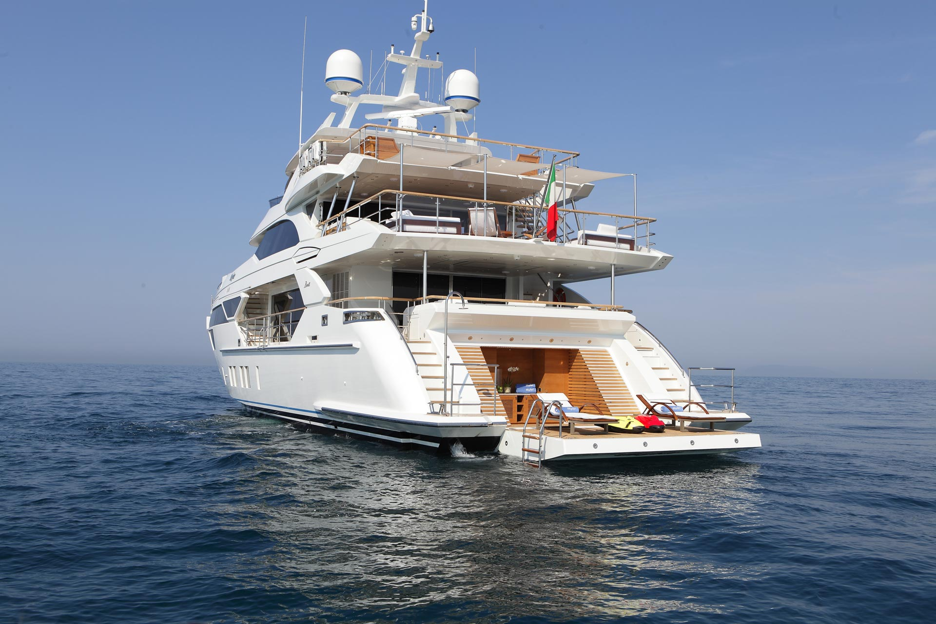 Benetti Superyacht Skyler Beach Club Yacht Charter Superyacht News