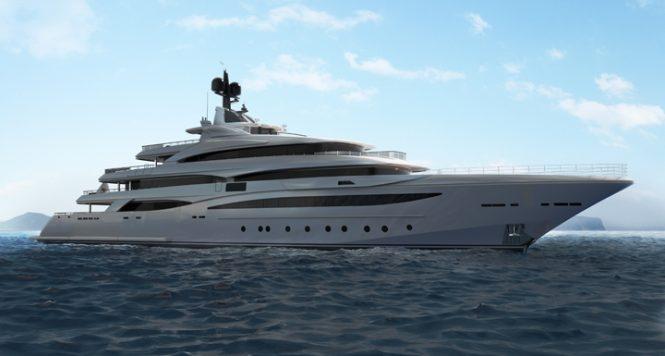 CRN 135 superyacht