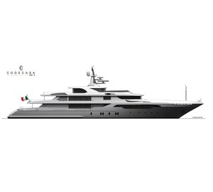 Codecasa commences construction on fourth 65m superyacht: Hull F74
