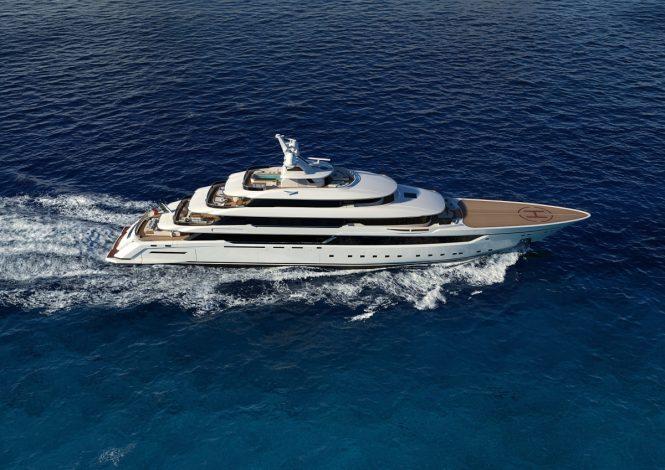 Columbus Classic 80m Mega Yacht