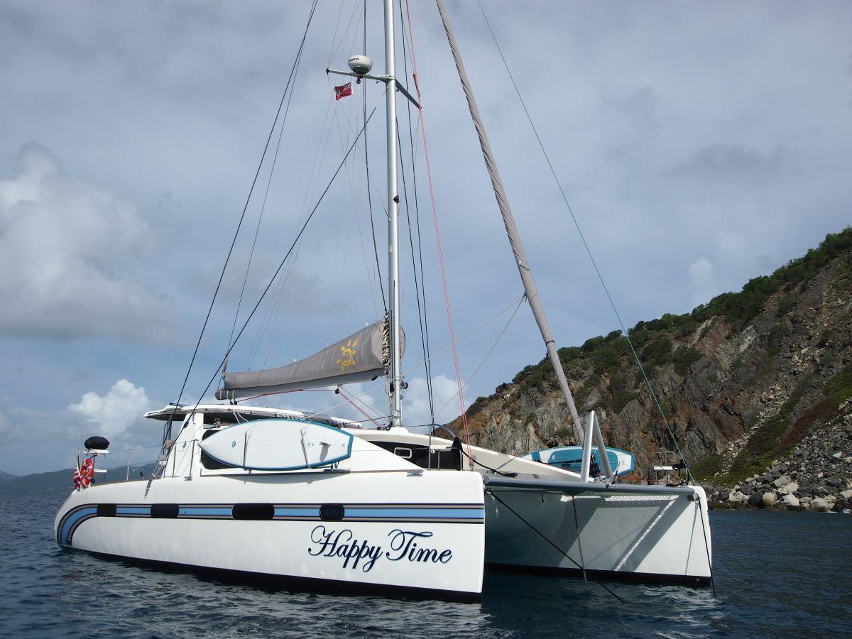 Happy Time catamaran