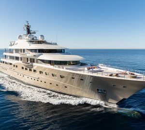 Top luxury charter yachts over 40m launched in 2017
