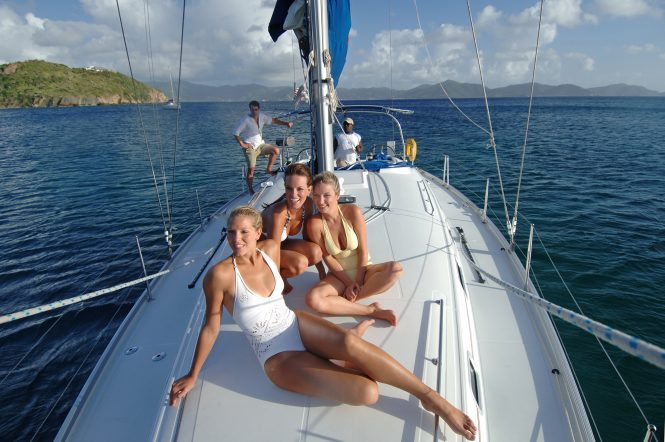 Sailing Sir Francis Drake Channel - Credit British Virgin Islands Tourist Board.
