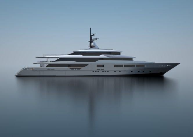 TANKOA S701 superyacht