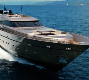 Charter speedy superyacht Musa among the Western Mediterranean isles