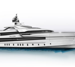 New 60m Heesen motor yacht project FALCON (hull YN 19360) designed by Omega Architects sold