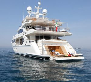 Special offer: Charter 2017-launched M/Y Skyler in the Bahamas and Caribbean at a reduced price