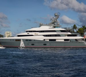 Five famous superyachts spotted over the festive season