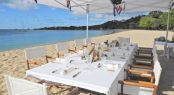 Fabulous luxury experiences with superyachts not to be missed - beach dining