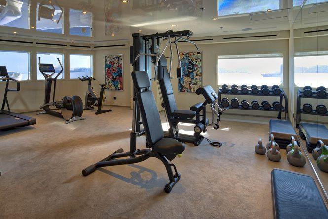 Gym aboard SERENITY