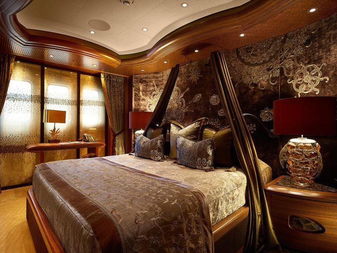 Inside ultra-luxurious motor yacht KISMET