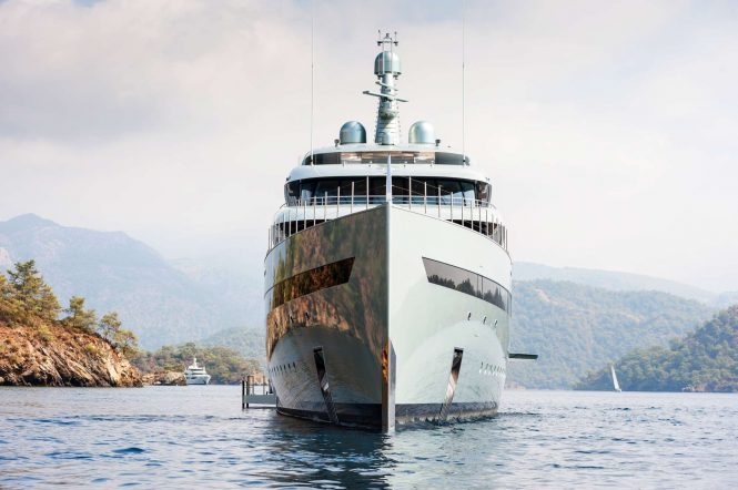 Luxury charter yacht SAVANNAH - Photo Feadship
