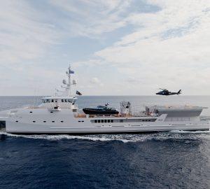 DAMEN Explorer Superyacht Support Vessel GAME CHANGER Sold