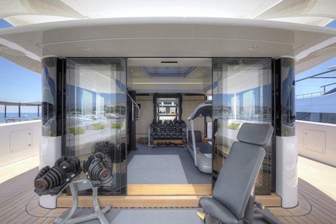 Mogambo onboard gym