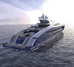 Project Speed - a 93m superyacht concept from Strand Craft Design