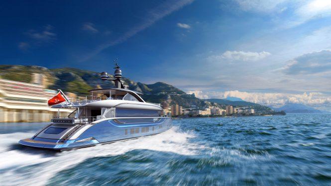 Superyacht by Dynamiq in Monaco