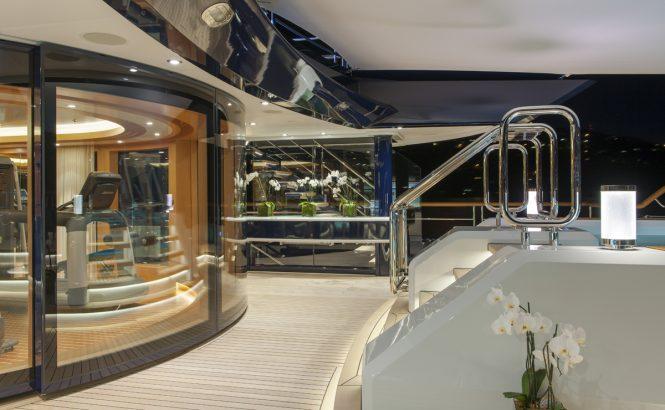 Yacht Solandge - Gymnasium