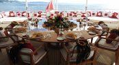 alfresco table setting