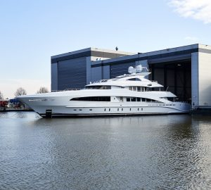 50m Motor Yacht WHITE (Project Ayla) by Heesen Launched