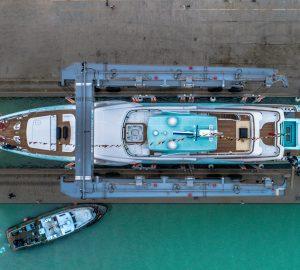 CRN launched 50-metre superyacht LATONA