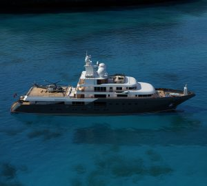 Brand-New Explorer Yacht PLANET NINE available for Mediterranean adventure charter
