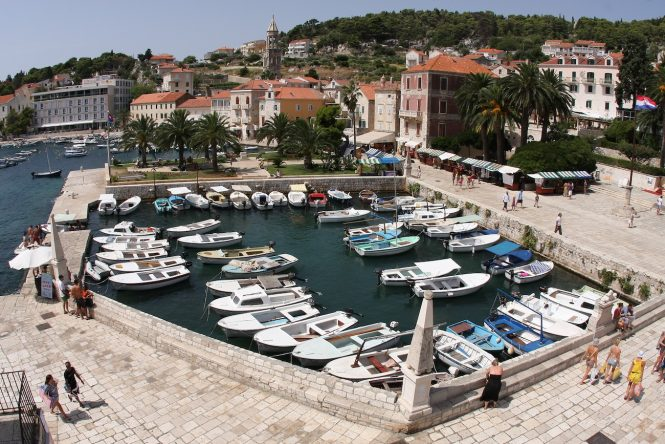 Hvar - Photo Boris Kragic - Image credit to Croatian National Tourist Board