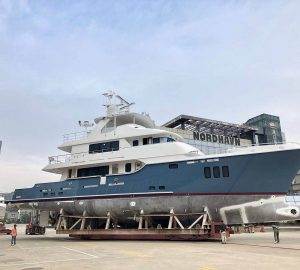 Nordhavn launches Hull 9615 and christens her Serenity