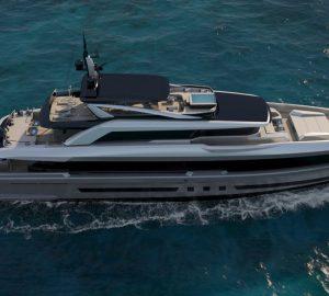 Latest renderings of 44m Mengi Yay superyacht Virtus