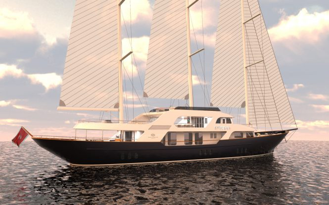 50m Sailing Yacht MEIRA