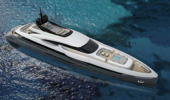 A render of the exterior of Vector 63M designed by Team for Design