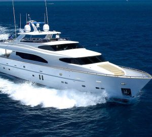 Charter luxury yacht Annabel II this summer in Croatia and Montenegro