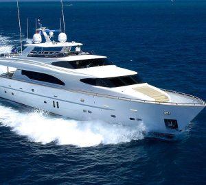 Charter luxury yacht Annabel II this summer in Croatia and Montenegro