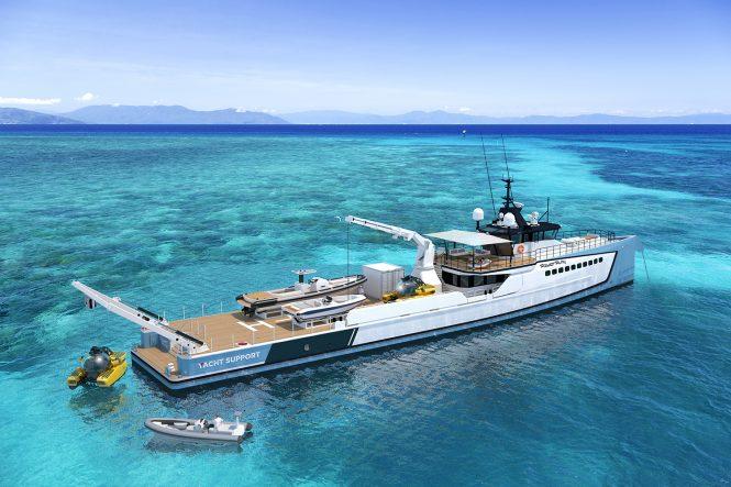 DAMEN yacht support vessel POWER PLAY
