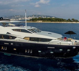 Secure Sunseeker superyacht Emoji for your Monaco Grand Prix charter