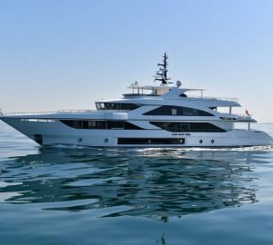 Gulf Craft motor yacht Majesty 140 launched and revealed at DIBS
