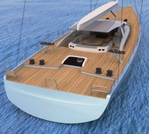 Malcolm McKeon sailing yacht MM341 released from mould at Baltic Yachts