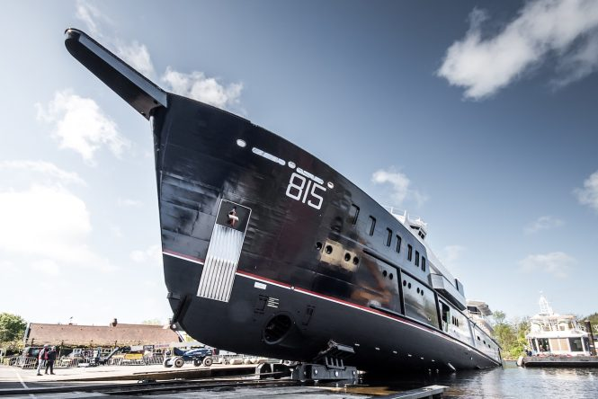 74M SUPERYACHT SHERPA by FEADSHIP - Copyright Tom van Oossanen