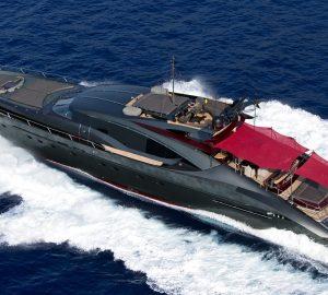 Balearics yacht charter special aboard 37m Palmer Johnson ASCARI