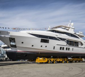5th & 6th Benetti Fast 125' motor yacht MY WAY and CHARADE launched