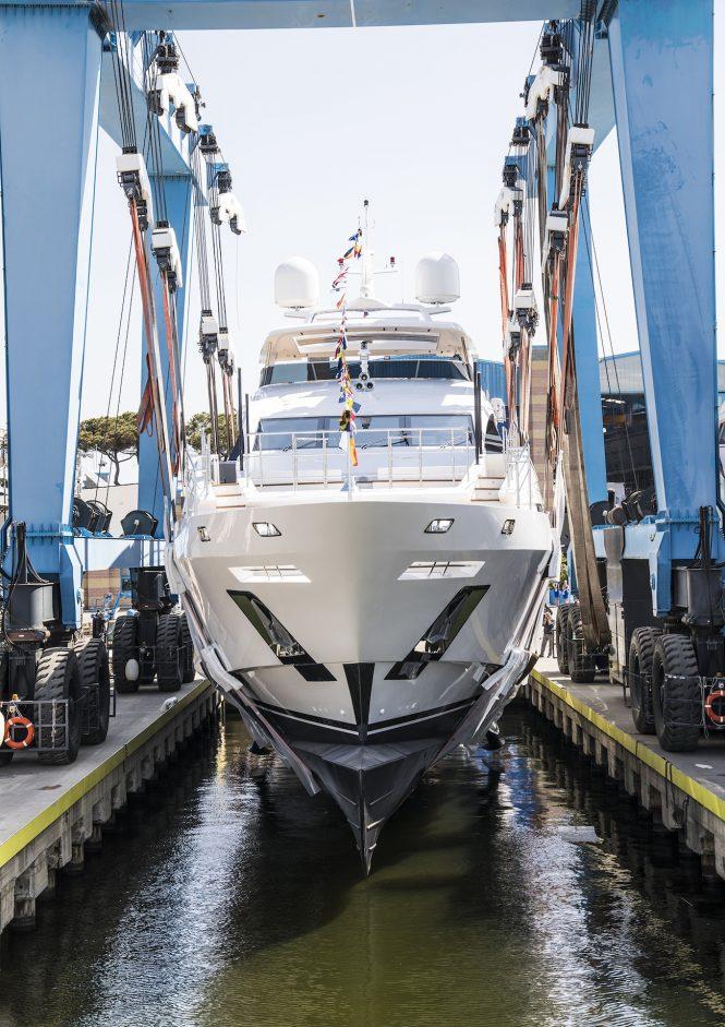 Benetti Fast 140' BF206 motor yacht IRONMAN at launch